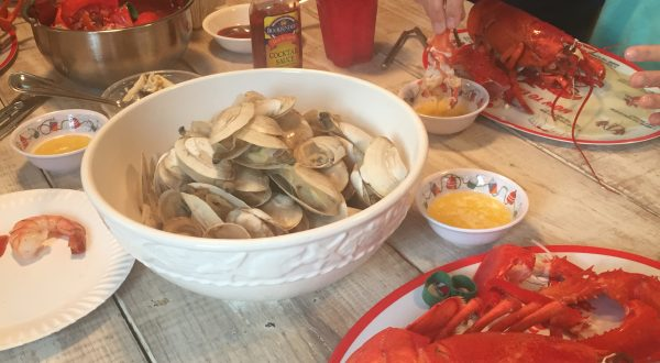 Lobster and Steamers